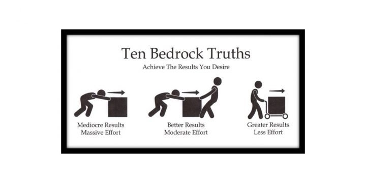 Greater Results with Less Effort— Applying the Ten Bedrock Truths To Achieve the Results You Desire While Building A Better You